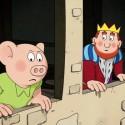 Štvorlístok v službách kráľa / Čtyřlístek ve službách krále
